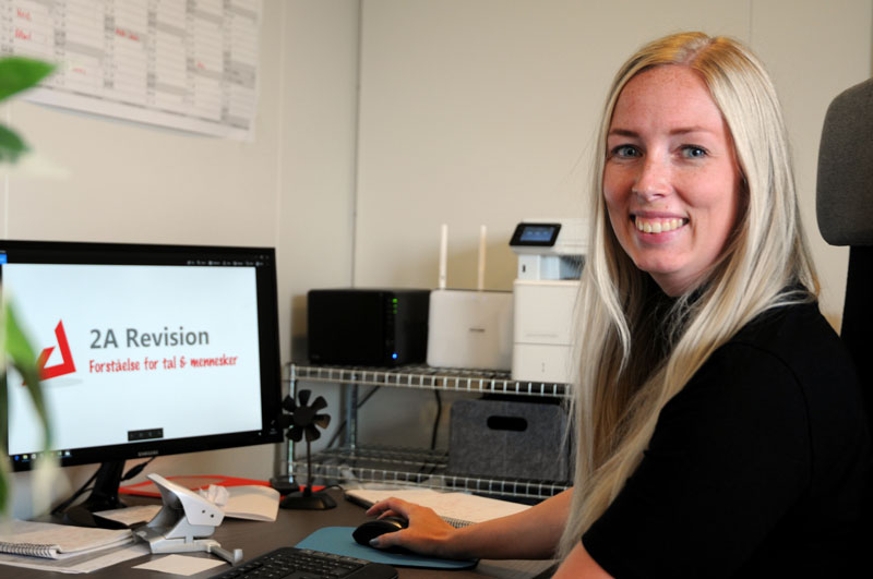 Pernille, Revisor hos 2Arevision